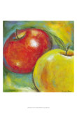 Abstract Fruits IV Prints by Chariklia Zarris