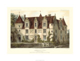 French Chateaux VI Premium Giclee Print by Victor Petit