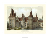 French Chateaux IV Premium Giclee Print by Victor Petit