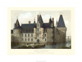 French Chateaux II Premium Giclee Print by Victor Petit