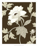 Neutral Peony Elegance I Prints by Nancy Slocum