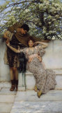 Promise of Spring, c.1890 Print by Sir Lawrence Alma-Tadema