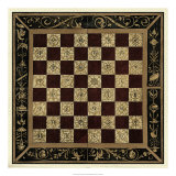 Antique Gameboard I Giclee Print