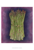 Asparagus Prints by Jennifer Goldberger