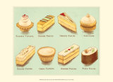 Fanciful Cakes and Tarts II Prints