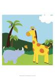 Jungle Jamboree I Poster af Erica J. Vess