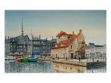 Honfleur, The Lieutenancy Print by Peter French