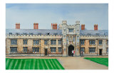 Trinity College Cambridge Prints by Peter French