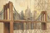 Brooklyn Bridge Poster by Albena Hristova