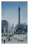 Trafalgar Square, London Print by Peter French