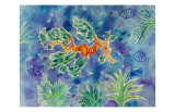 Leafy Seadragon Prints by Mary Stubberfield