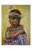 Masai Prints by Sukhpal Grewal