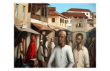 Zanzibar III Prints by Sukhpal Grewal