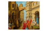 Bazaar at Midday Posters by Sukhpal Grewal