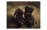 Still Life of Shoes Prints by Vincent van Gogh