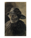 Beardless Fishman Wearing a Sou'wester Prints by Vincent van Gogh