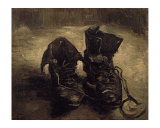 Still Life of Shoes Print by Vincent van Gogh