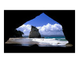 Cathedral Cove, New Zealand Posters by Charles Glover