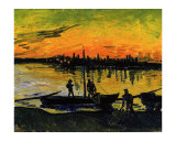 The Stevedores in Arles Reproduction procédé giclée par Vincent van Gogh