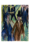 Street Scene II Posters by Ernst Ludwig Kirchner