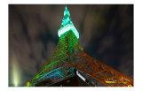 Tokyo Tower: St. Patrick's Day I Prints by Takashi Kirita