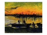 The Stevedores in Arles Giclée-Druck von Vincent van Gogh