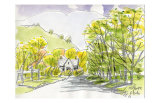 English Countryside Prints by Kenji Fujimura