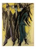 Berlin Street Scene II Poster by Ernst Ludwig Kirchner