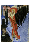 Red Cocotte Print by Ernst Ludwig Kirchner
