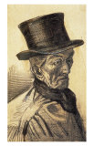 Orphan Man with Top Hat Print by Vincent van Gogh