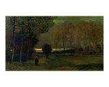 Toward Evening Giclee Print by Vincent van Gogh
