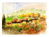The Whole Mountainside is Ablaze in Colorful Autumn Leaves, Glorious Autumn in Yatsugatake Posters by Kenji Fujimura