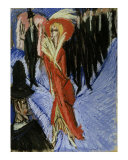 Red Cocotte Prints by Ernst Ludwig Kirchner