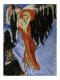 Red Cocotte Posters by Ernst Ludwig Kirchner