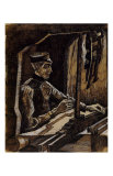 Weaver Facing Right Prints by Vincent van Gogh