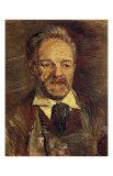 Portrait of Pere Tanguy Art by Vincent van Gogh