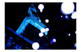 Tokyo Tower: World Diabetes Day Blue Illumination II Print by Takashi Kirita