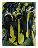 Five Women on the Stage Prints by Ernst Ludwig Kirchner