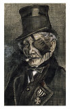 Orphan Man in Sunday with Eye Bandage Posters af Vincent van Gogh