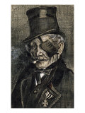 Orphan Man in Sunday with Eye Bandage Prints by Vincent van Gogh