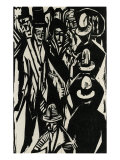 Flaneus in the Street Prints by Ernst Ludwig Kirchner