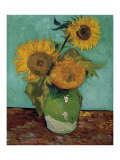 Sunflowers, First Version Poster by Vincent van Gogh