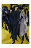 Women on the Street I Art by Ernst Ludwig Kirchner