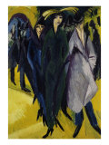 Women on the Street I Prints by Ernst Ludwig Kirchner