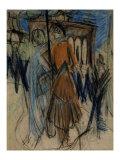 Potsdamer Platz, Berlin Posters by Ernst Ludwig Kirchner