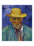 The Old Peasant Patience Escalier Prints by Vincent van Gogh