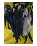 Women on the Street I Posters by Ernst Ludwig Kirchner