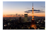 Tokyo Tower: Evening II Posters by Takashi Kirita