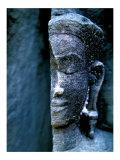 Angkor Wat Face, Cambodia Prints by Charles Glover