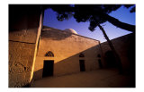Desert Courtyard Sunlight, Syria Prints by Charles Glover